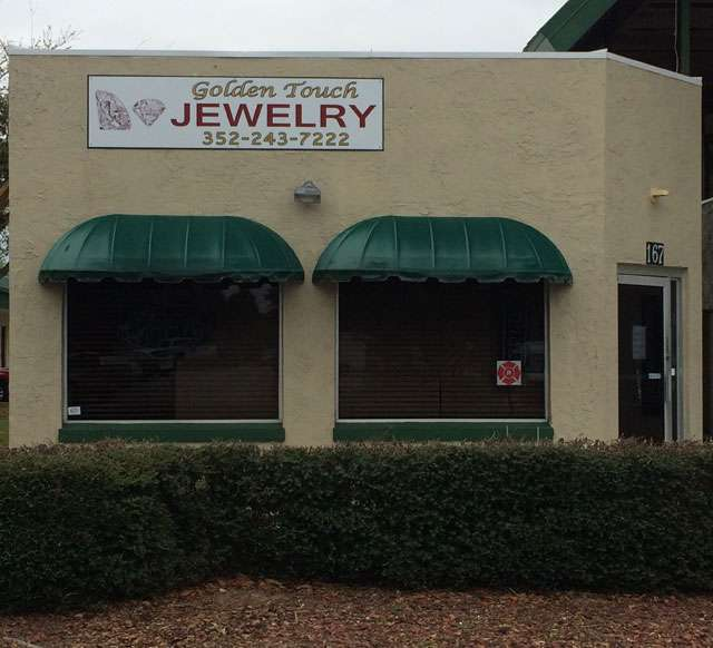 Golden Touch Jewelry Store Front Florida